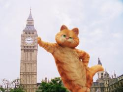 Garfield in London
